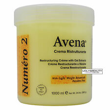 Avena Numero 2 Restructuring Creme with Oat Extracts 1000 ml / 34.4 Oz.