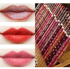 12PCS Professional Lipliner AUT Waterproof Lip Liner Pencil 15CM 12 Colors sale!