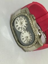 New authentic Philip Stein Women's Pink quartz Diamond  watch.