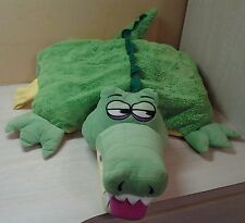 "Koo Koo Play Pals Large 24"" Alligator Crocodile Plush Talking Sounds Pillow Toy"