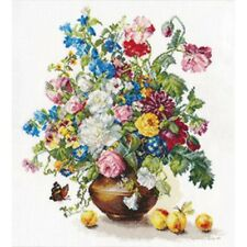 "Counted Cross Stitch Kit ALISA - ""Poetry of flowers. Fragrance of Summer"""