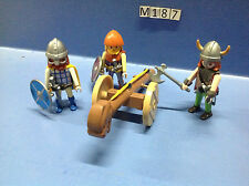 (M187) playmobil bélier vickings ref 3156 3157 3150 3151 3152 3153 3156