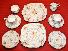 17 PIECE COLLECTION  Royal Albert PETIT POINT CHINA