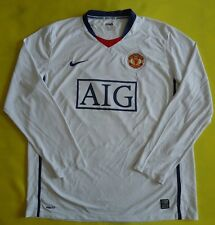 4.6/5 MANCHESTER UNITED 2008/2009 ORIGINAL FOOTBALL JERSEY SHIRT era RONALDO