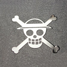 Hot Anime One Piece 3D Metal Sticker For Phone PSP Computer Laptop Car Toys