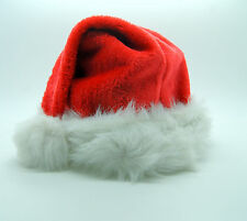 Traditional deluxe new christmas adult santa hat with pompom