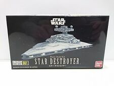 Bandai Star Wars Vehicle Model 001 Star Destroyer non scale kit