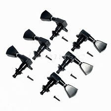 Black Tuning Pegs Tuners Machine Heads tuners 3R3L