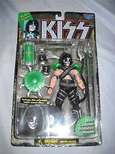 1997 KIZZ ACTION FIGURE PETER CRISS DRUM LAUNCHES DRUMSTICK MISSILES NIP
