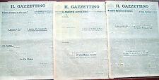 1945 LOTTO DI GAZZETTINO DI VENEZIA PROCESSO NORIMBERGA E VILLAMARZANA ROVIGOTO
