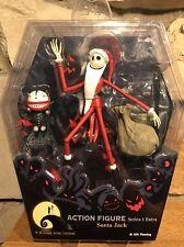 Nightmare Before Christmas Jack Skellington Santa Jack Figure Series 1 Rare