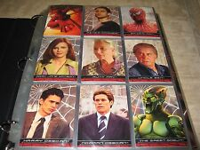 2002 Spider-Man Movie Master Set! Holograms, Web Tech/Shooter, Puzzle Stickers +
