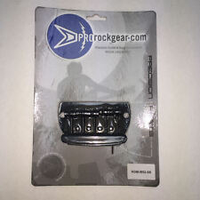 Guitar Parts ProRockGear - 5 String Hardtail BASS BRIDGE - SATIN BLACK