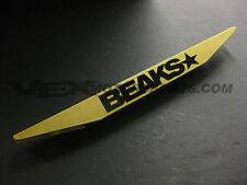 BEAKS GOLD REAR LOWER SUBFRAME TIE BAR 2006-2011 FOR HONDA CIVIC FA FG FD 2DR 4D