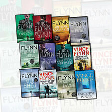 Mitch Rapp Collection 12 Books Set Transfer of Power,Memorial Day By Vince Flynn