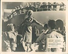 DESERT MICE ORIGINAL LOBBY CARD PATRICIA BREDIN SINGING TO TROOPS BRITISH COMEDY