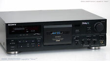 Sony tc-k808es gama alta lo cassette Tape Deck top-estado revisadas! +1j. garantía!