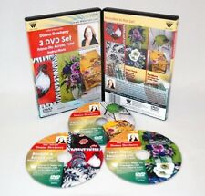 Donna Dewberry 3 DVD Set, ACRYLIC PAINTING: FURNITURE, FLORALS, BORDERS, SCROLLS