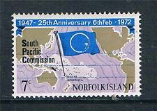 Norfolk Is 1972 Sth.Pacific Comm. SG 126 MNH