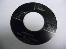 ANNETTE Jo Jo The Dog/Love me Forever 45 RPM Buena Vista Records VG