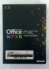 Microsoft Office 2011 Mac Home and Business - Sweden, Finland, Danmark, Norway