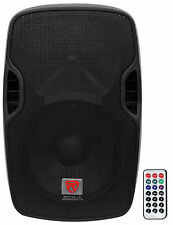 "Rockville BPA12 12"" Professional Powered Active 600w DJ PA Speaker w Blueto"