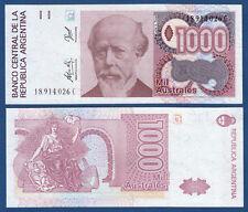 ARGENTINIEN / ARGENTINA 1000 Australes (1988-90) UNC P.329 d