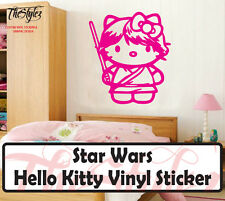 Star Wars Hello Kitty Vinyl Wall Sticker