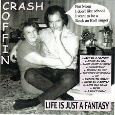 "Crash Coffin ""Life is Just a Fantasy"" - Neil Coffin Music 2015 CD"