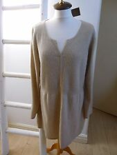 BNWT Pure Collection luxury pure cashmere tunic style jumper size 20