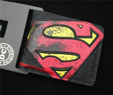 Marvel Comics Superman wallet Bifold leather pu wallet men folding Purses  geht