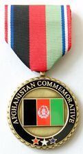 US AFGHANISTAN COMMEMORATIVE Medal Makers Mark P-30 Mint Condition