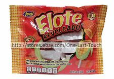 JOVY 5.29 oz Bag ELOTE REVOLCADO Chili Covered CORN Lollipops/Candy Exp. 11/18