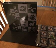 New Legandary Pokemon 3 Ring Binder!10 Ultra Pro 9 Pocket Pages!Easter Gift!