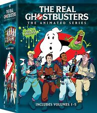 THE REAL GHOSTBUSTERS : ANIMATED SERIES  -  DVD - REGION 1 - Sealed