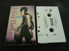PRINCE U GOT THE LOOK ULTRA RARE CASSETTE SINGLE IN CARD SLEEVE!