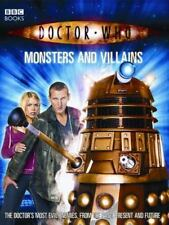 Doctor Who: Monsters And Villains (Doctor Who (BBC Paperback))