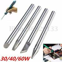 30/40/60W Replaceable Soldering Iron Tips Solder Silverline Electric iron head