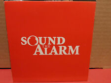 Sound the Alarm - Suffocating To Stay Alive / Closer PROMO CD VG condition