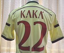 Milan shirt Away 2014-2015, sz Medium *Adult #22 KAKA' Official Nameset LOOK!!!