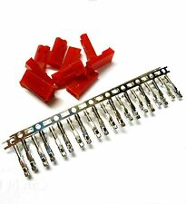 10 RC JST BEC Set Male Connector Plug Tin Plated 2 Pin