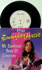 "7"" 80s OLDIETHEK VG+++ ! EMMYLOU HARRIS : Mr. Sandman + Rose Of Cimarron"