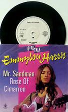 """7"""" 80s OLDIETHEK VG+++ ! EMMYLOU HARRIS : Mr. Sandman + Rose Of Cimarron"""