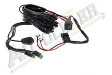 Off Road LED LIGHT Bar On-Off Power Switch 40 Amp Relay Wiring Harness - 2 Lamps