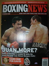 BOXING NEWS 21 MARCH 2008 MANNY PACQUIAO DEFEATS JUAN MANUEL MARQUEZ