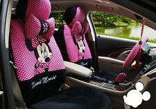 18pcs 2016 Cartoon Mickey Mouse car seat cover universal seat covers car-covers