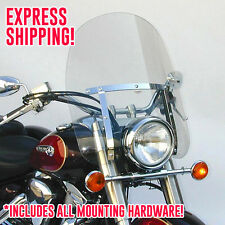 Yamaha XVS1100 V-Star/Drag Star Custom Dakota 4.5 Windshield N2302 + Mount Kit