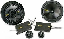 Kicker CS Series 6-1/2 Inch Component Component Speakers 40CSS654