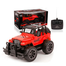 1:24 Drift Speed Radio Remote control RC Car Off-road Jeep vehicle kids Toy RED
