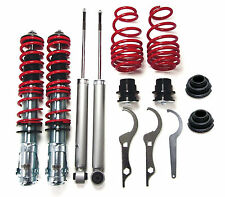 REDLINE suspension lowering kit with 2X camber plates kit for VW Lupo 6X GTI TDI